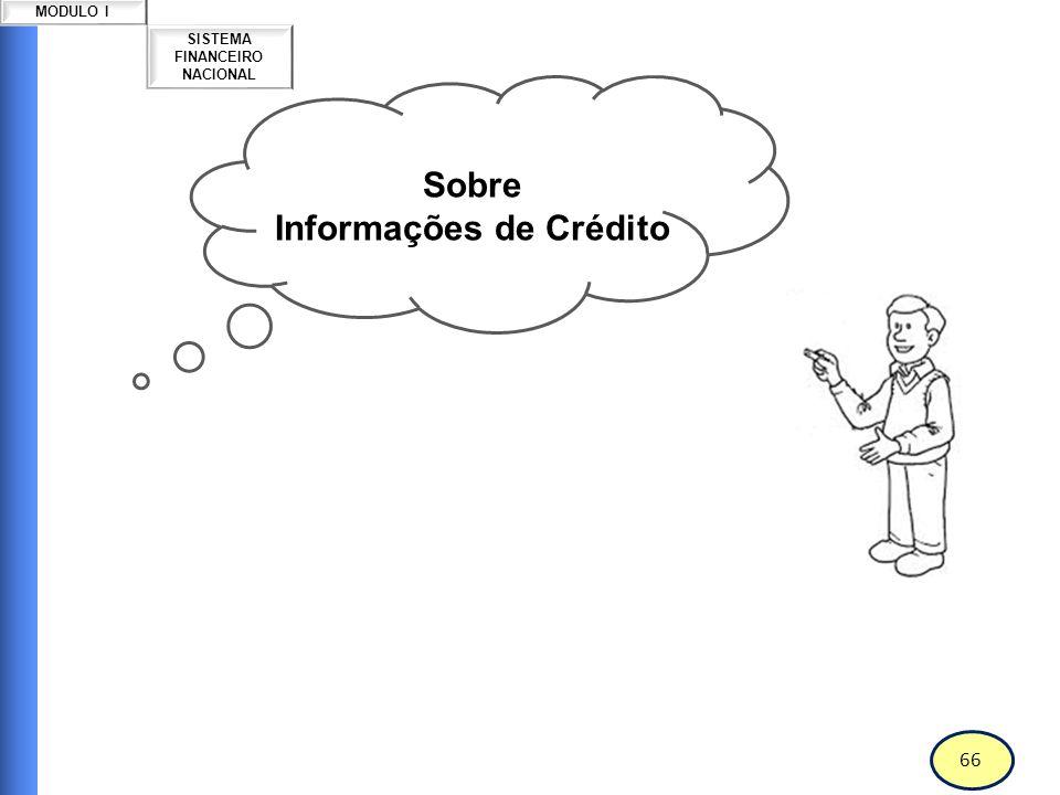 Informações de Crédito