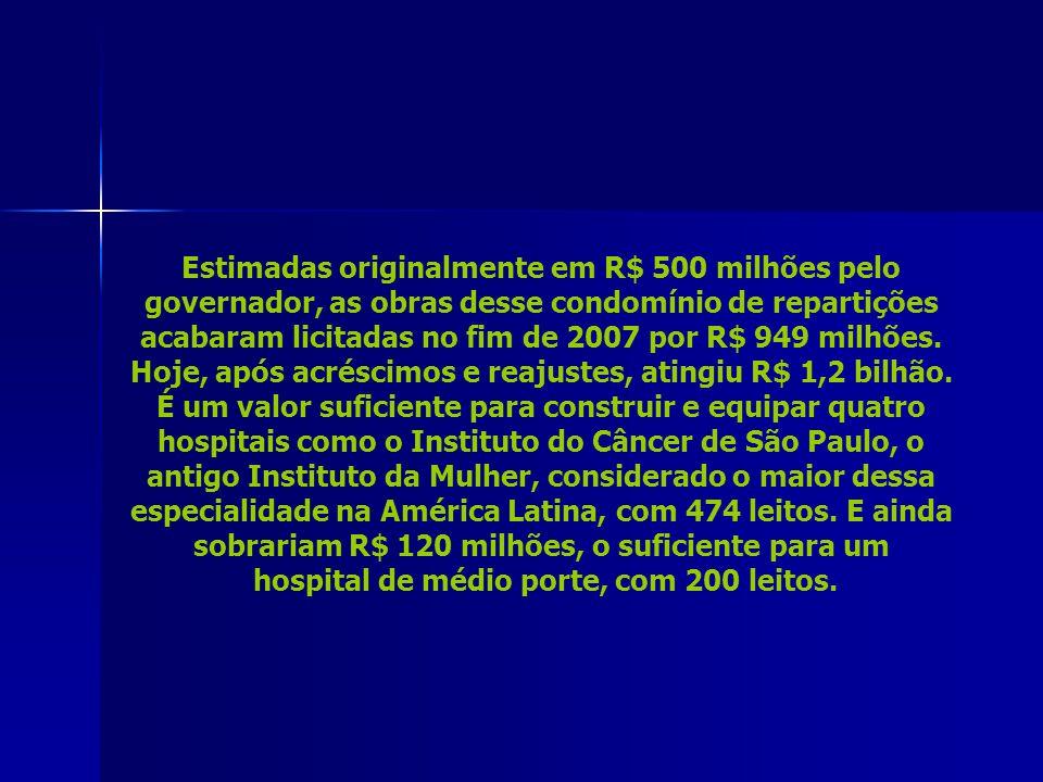 hospital de médio porte, com 200 leitos.