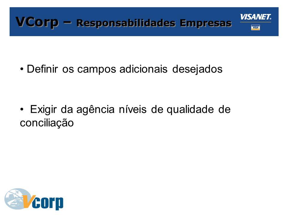 VCorp – Responsabilidades Empresas