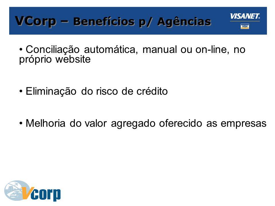VCorp – Benefícios p/ Agências