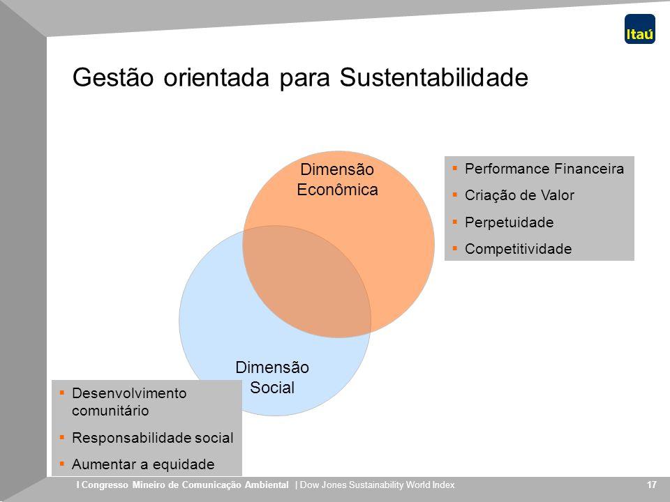 Gestão orientada para Sustentabilidade