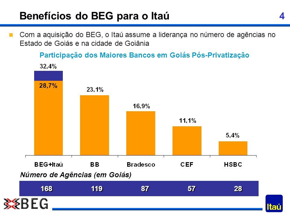 Participação dos Maiores Bancos em Goiás Pós-Privatização