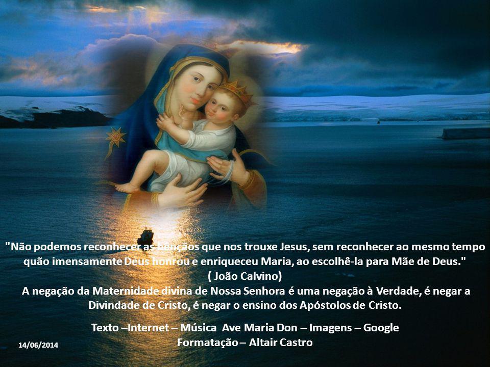 Texto –Internet – Música Ave Maria Don – Imagens – Google