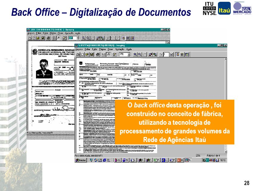 Back Office – Digitalização de Documentos