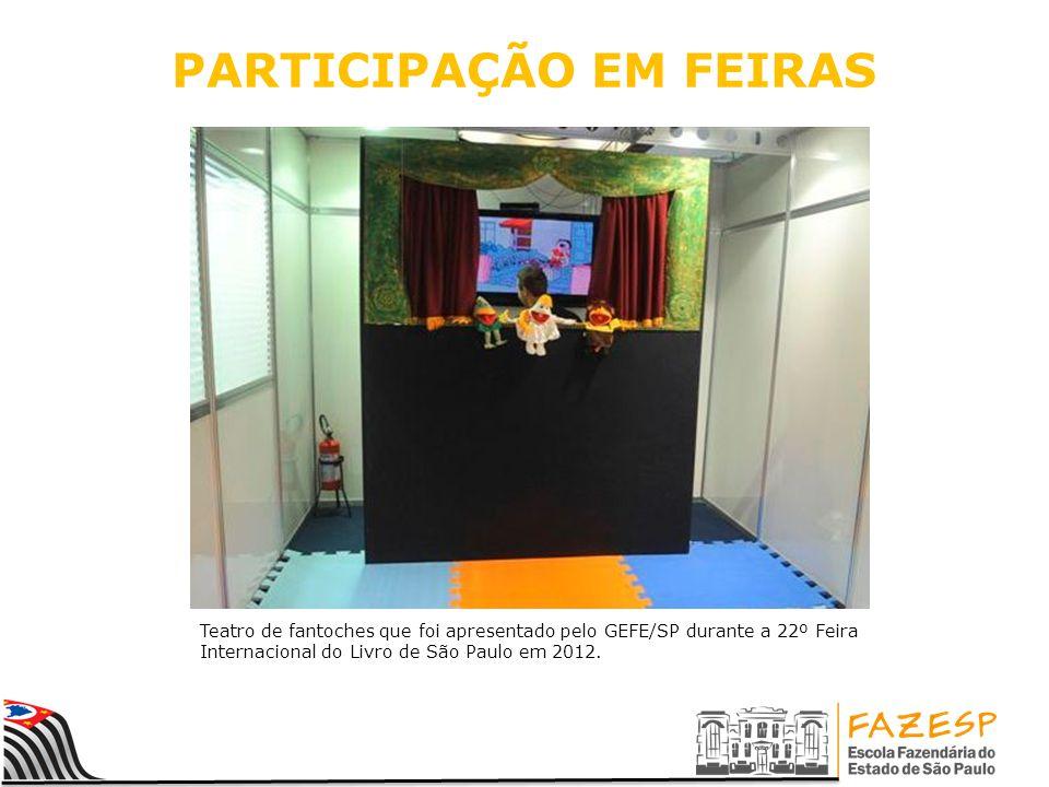 PARTICIPAÇÃO EM FEIRAS