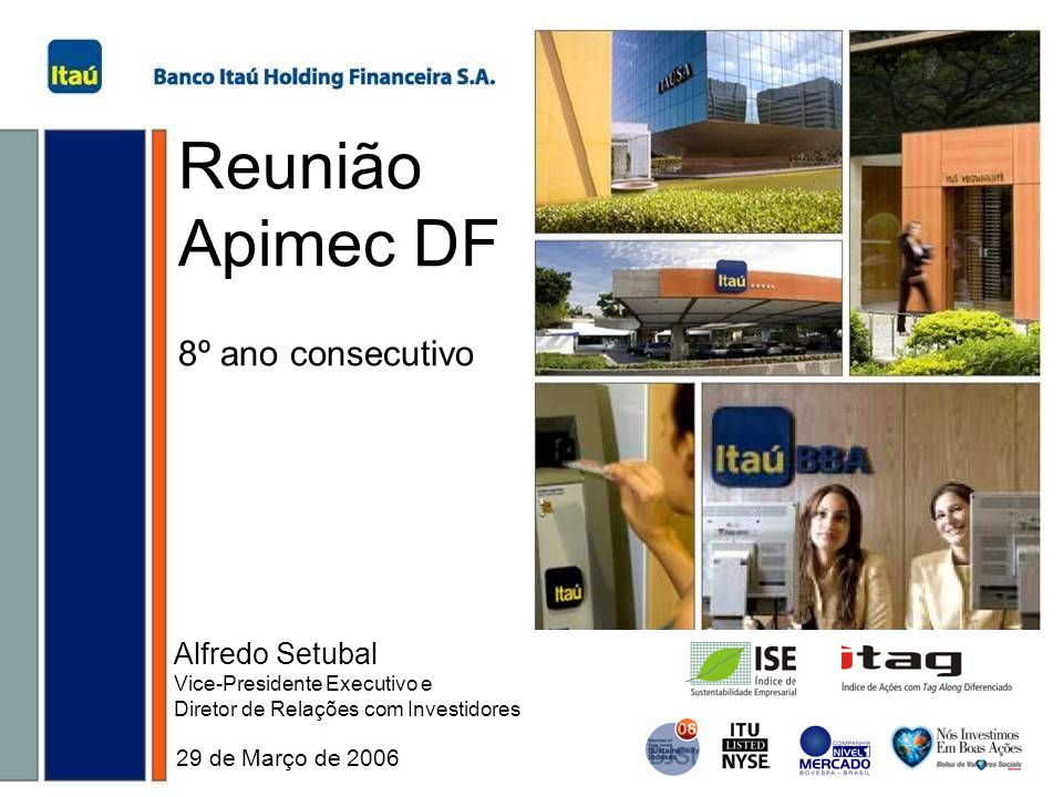 Reunião Apimec DF 8º ano consecutivo Alfredo Setubal