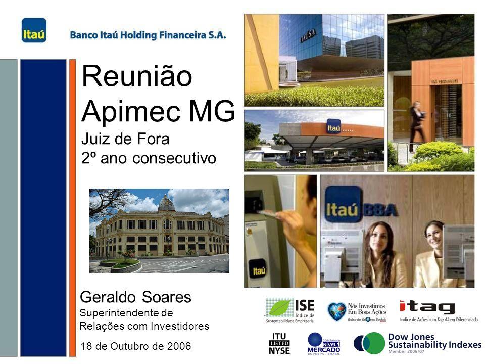 Reunião Apimec MG Juiz de Fora 2º ano consecutivo Geraldo Soares