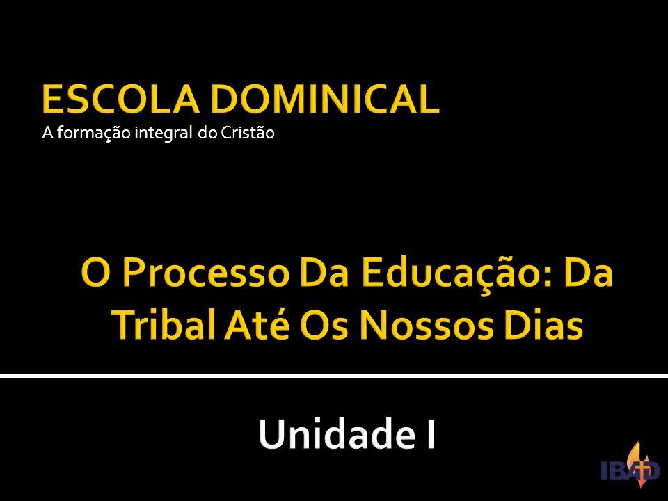 O Processo Da Educação: Da Tribal Até Os Nossos Dias