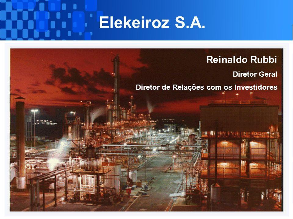 Elekeiroz S.A. Reinaldo Rubbi Diretor Geral