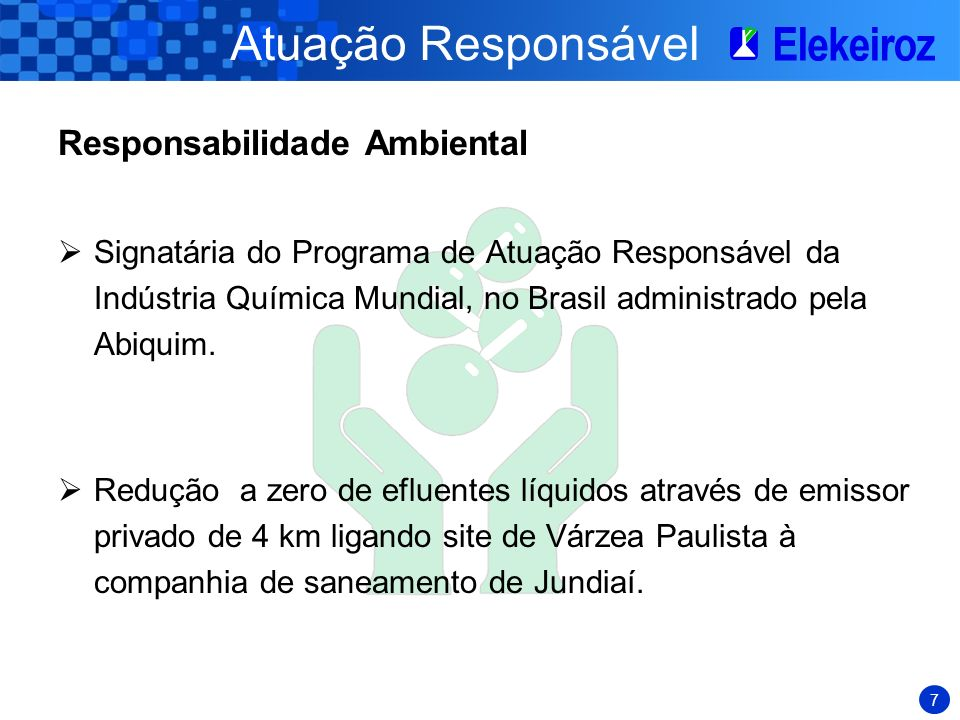 Atuação Responsável Responsabilidade Ambiental