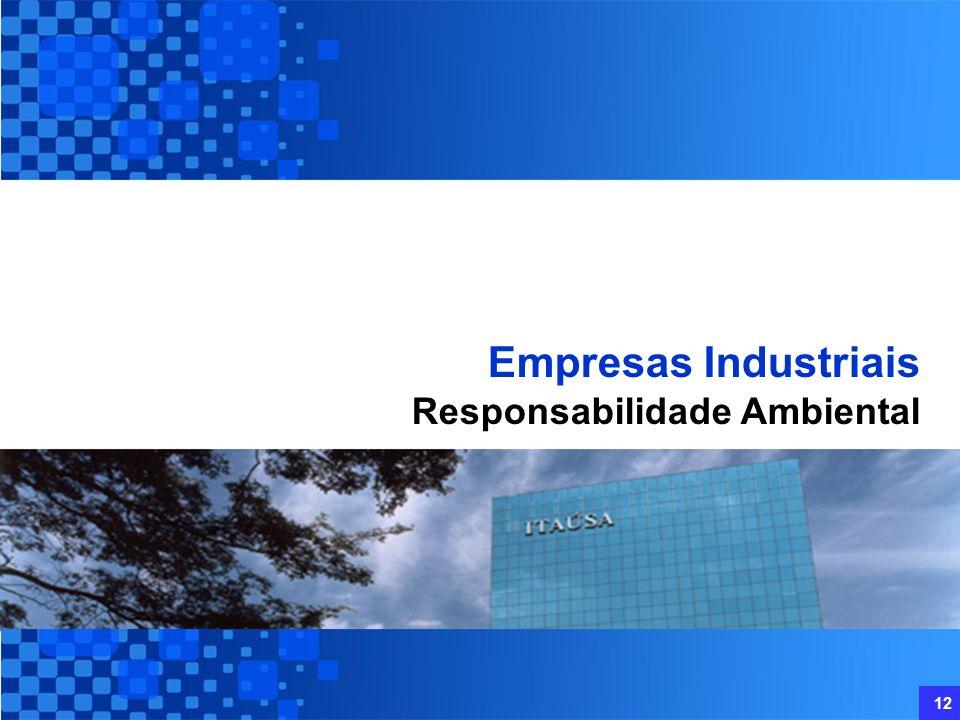 Empresas Industriais Responsabilidade Ambiental