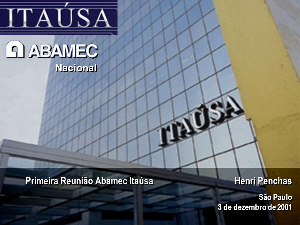 Primeira Reunião Abamec Itaúsa Henri Penchas