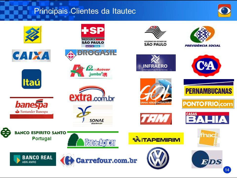 Principais Clientes da Itautec