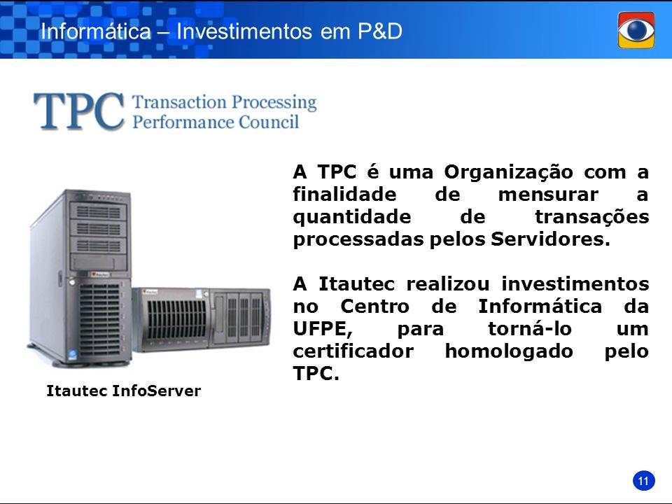 Informática – Investimentos em P&D