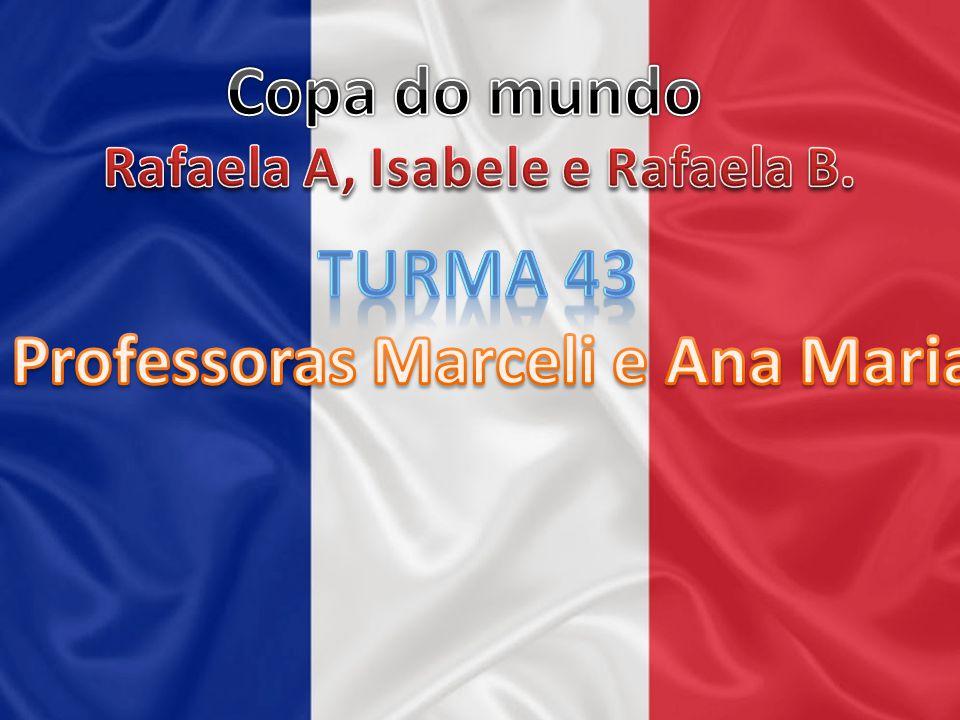 Rafaela A, Isabele e Rafaela B. Professoras Marceli e Ana Maria