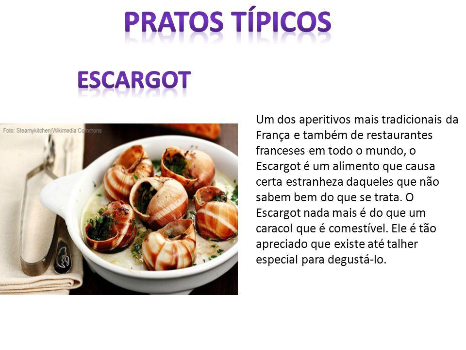 Pratos típicos escargot