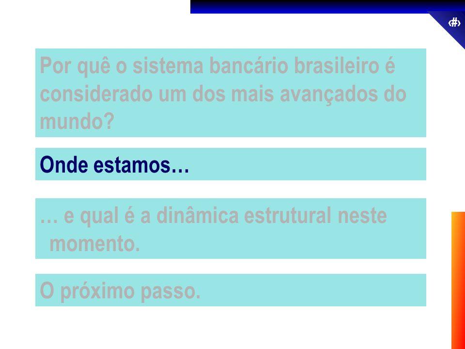 Por quê o sistema bancário brasileiro é considerado um dos mais avançados do mundo