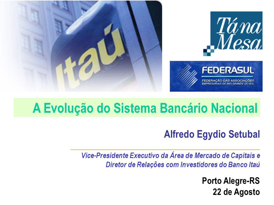 A Evolução do Sistema Bancário Nacional