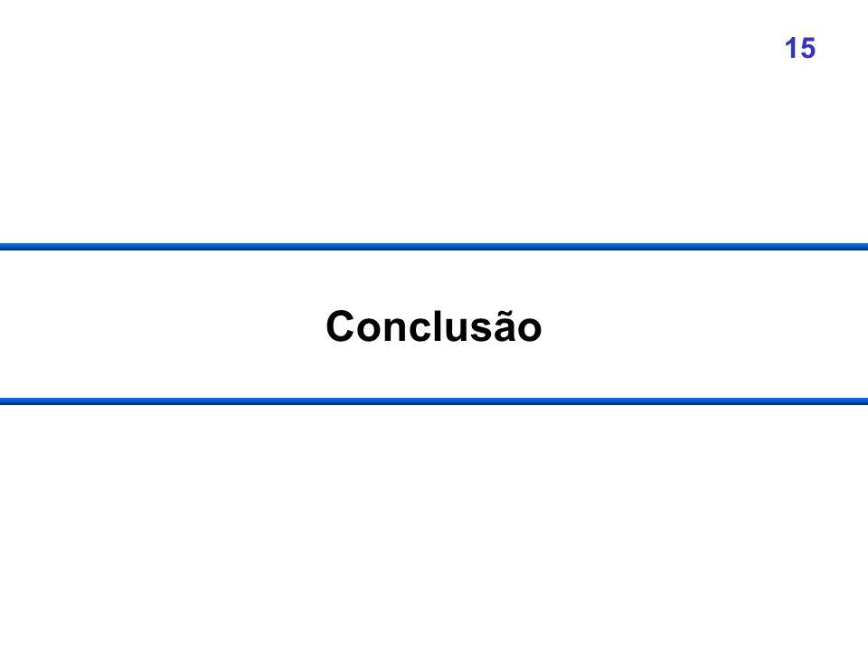 15 Conclusão