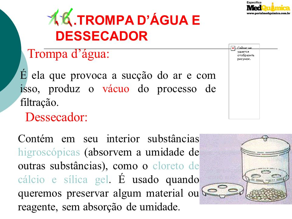 16 .TROMPA D'ÁGUA E DESSECADOR