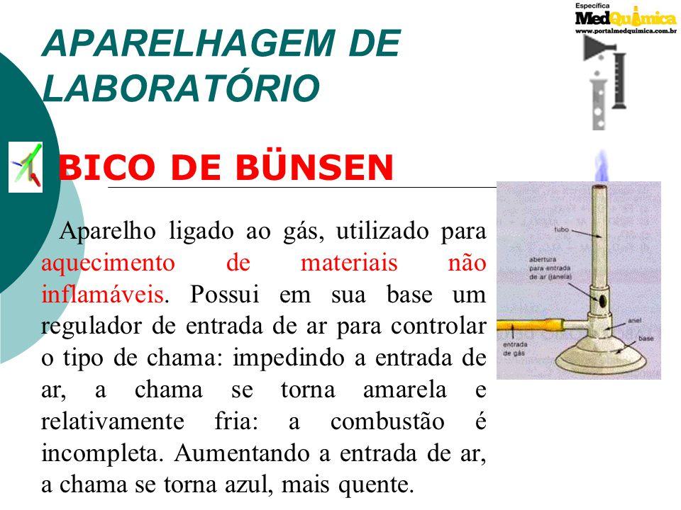 APARELHAGEM DE LABORATÓRIO