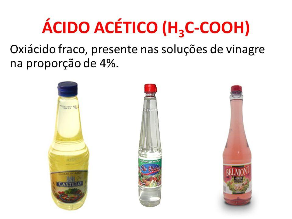 ÁCIDO ACÉTICO (H3C-COOH)