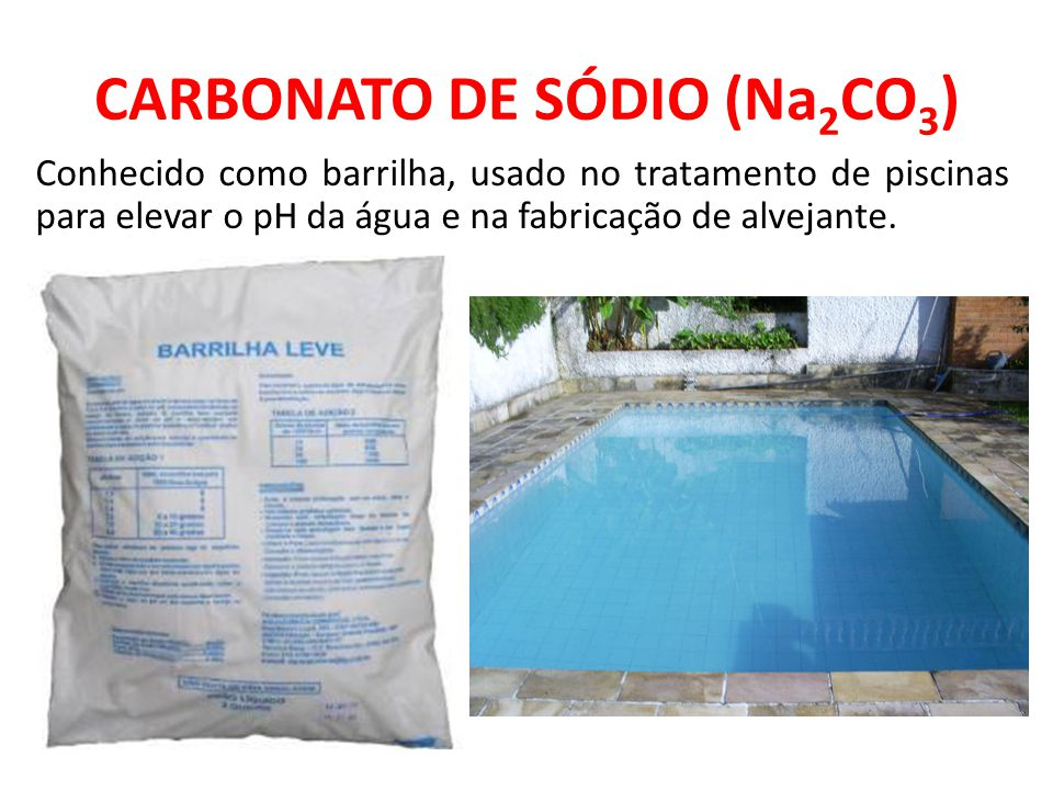 CARBONATO DE SÓDIO (Na2CO3)