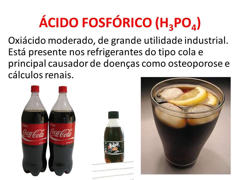 ÁCIDO FOSFÓRICO (H3PO4)
