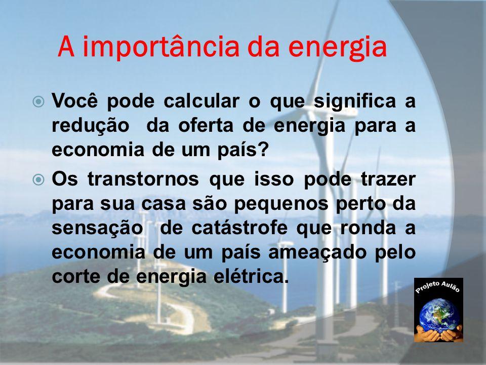 A importância da energia