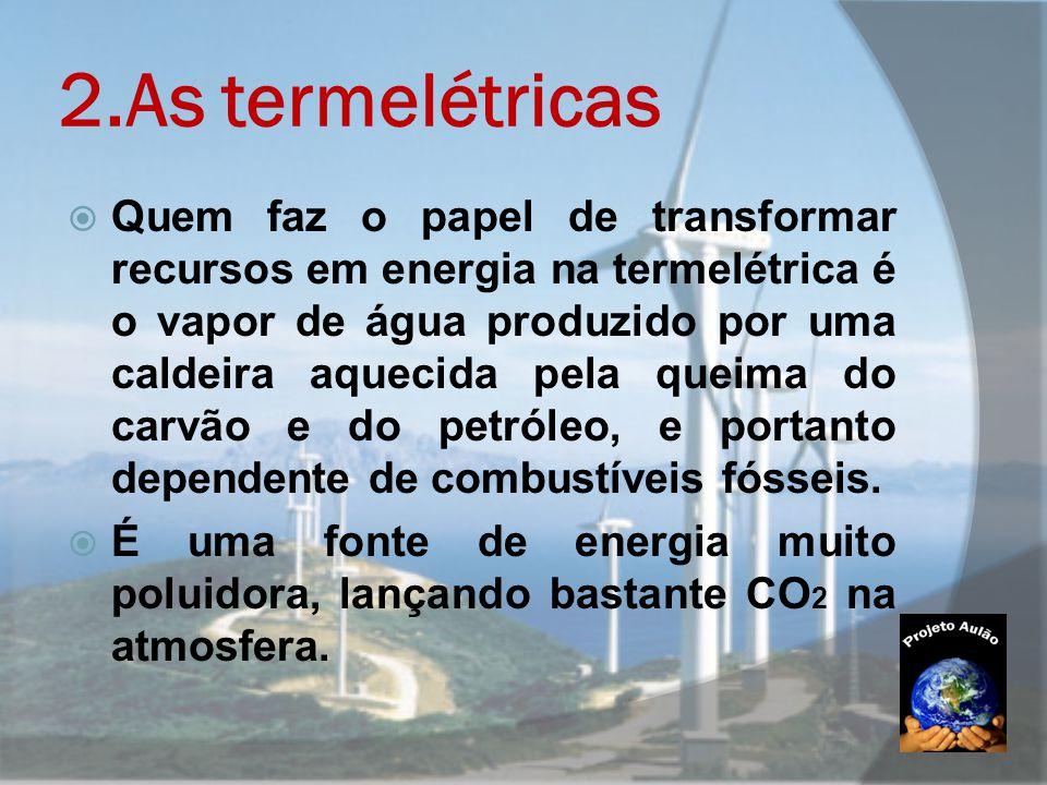 2.As termelétricas