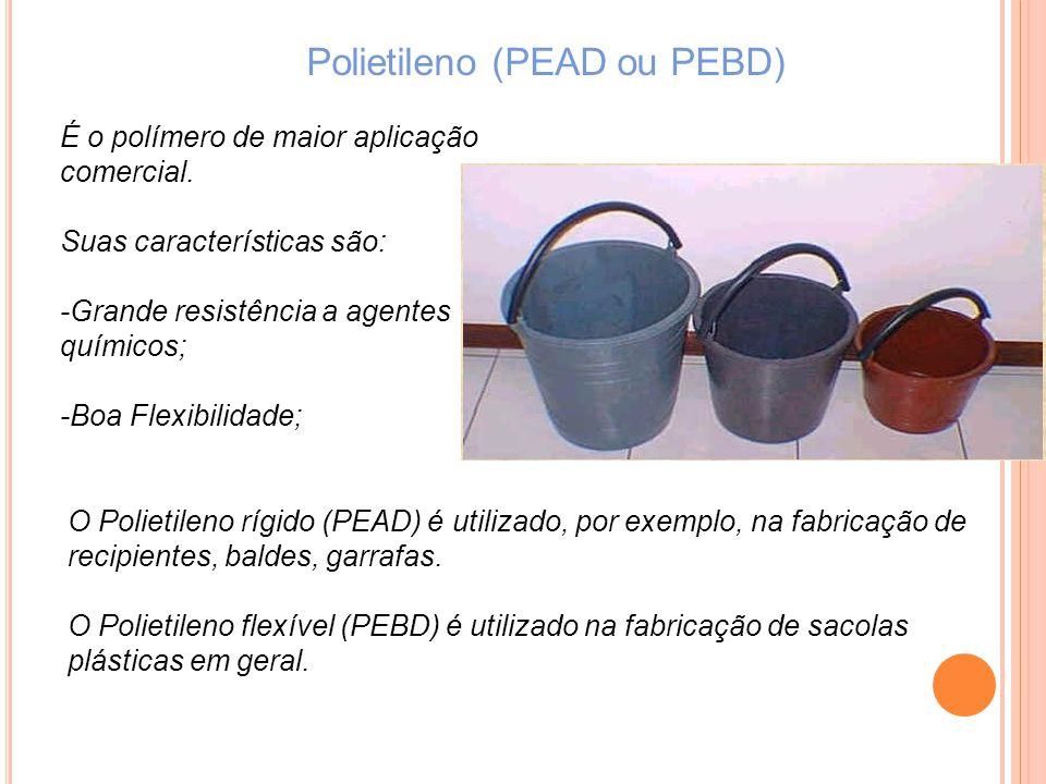 Polietileno (PEAD ou PEBD)