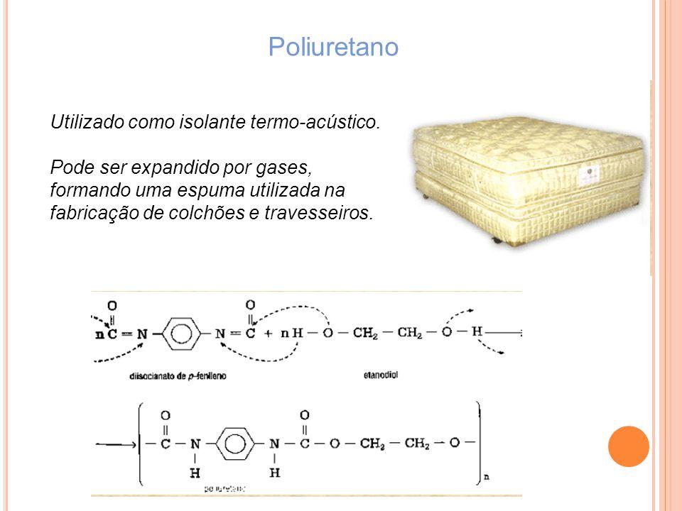 Poliuretano Utilizado como isolante termo-acústico.