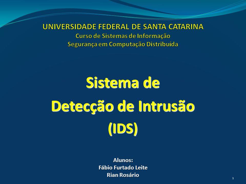 Sistema de Detecção de Intrusão (IDS)