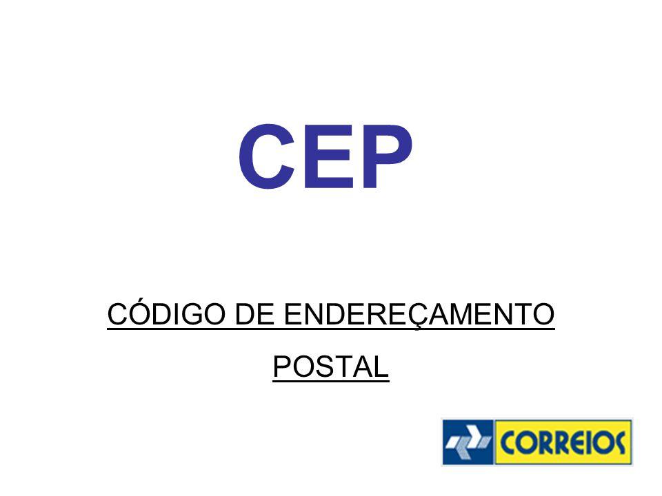 CÓDIGO DE ENDEREÇAMENTO POSTAL
