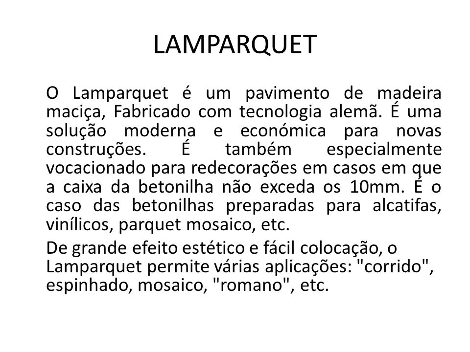 LAMPARQUET