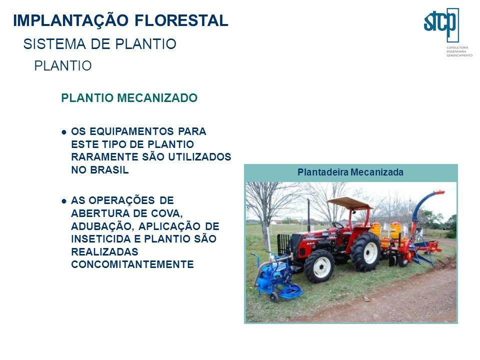 Plantadeira Mecanizada