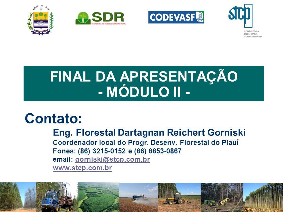 FINAL DA APRESENTAÇÃO - MÓDULO II -