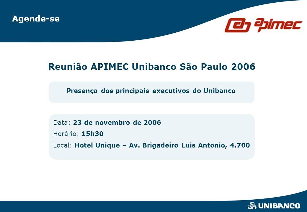 Reunião APIMEC Unibanco São Paulo 2006