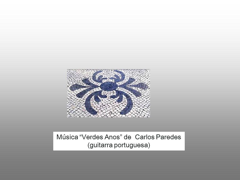 Música Verdes Anos de Carlos Paredes (guitarra portuguesa)