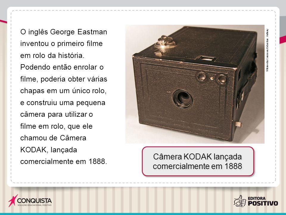Câmera KODAK lançada comercialmente em 1888