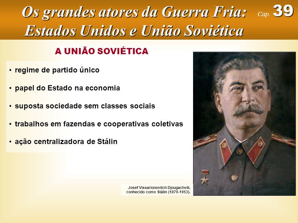 Os grandes atores da Guerra Fria: Estados Unidos e União Soviética