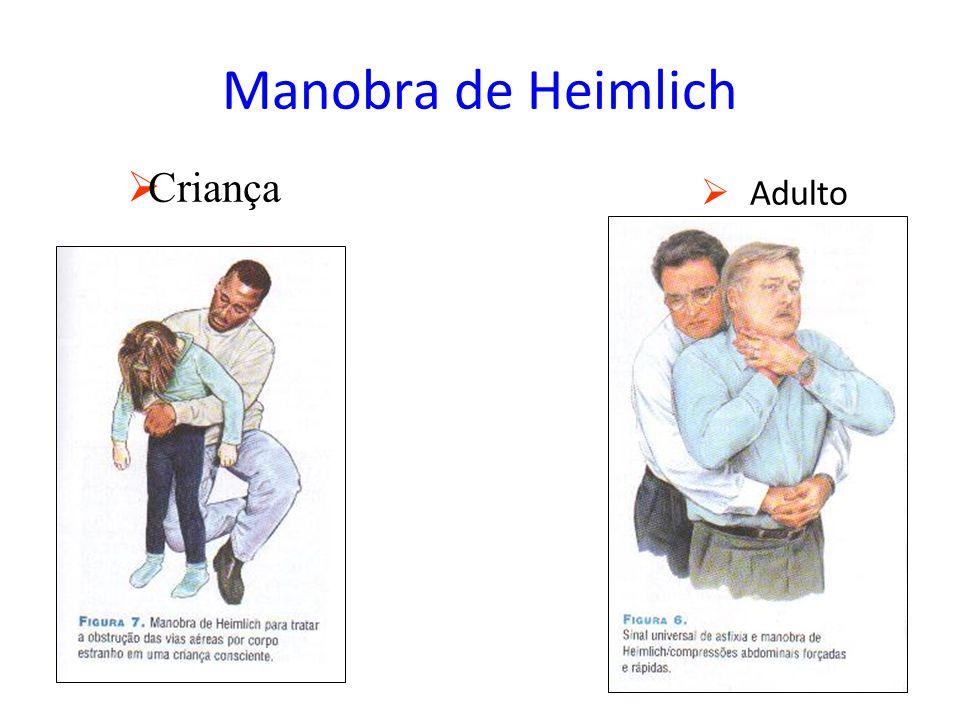 Manobra de Heimlich Criança Adulto
