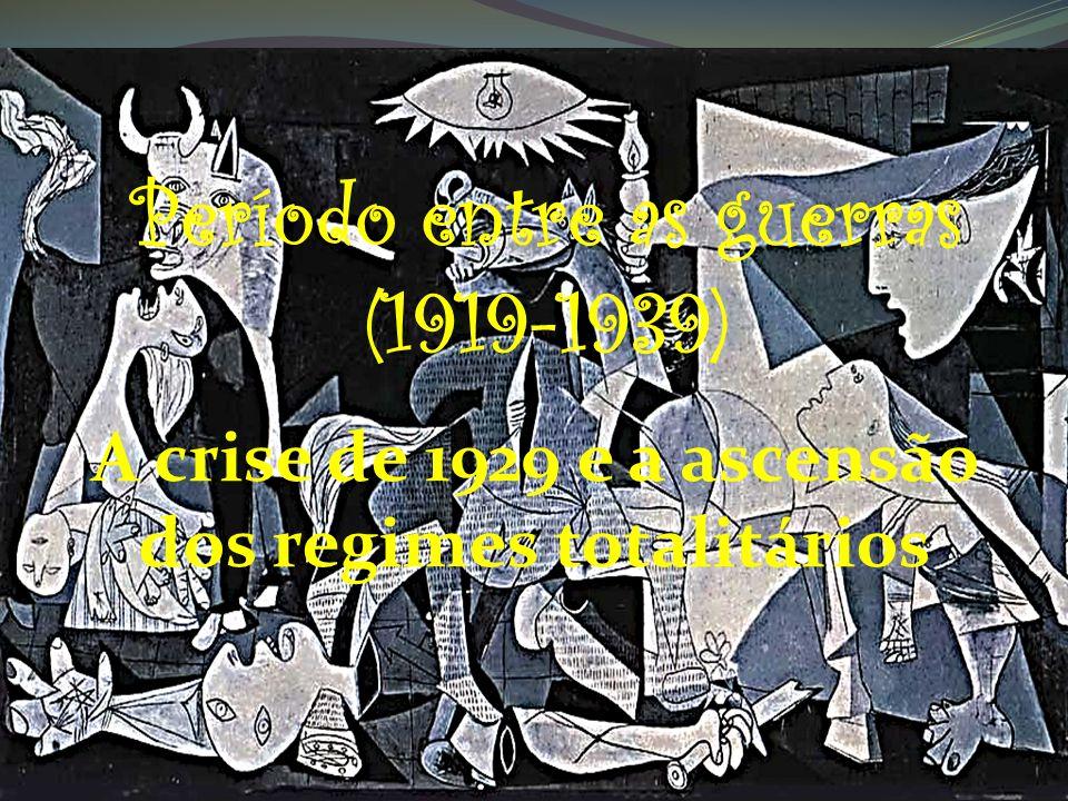 A crise de 1929 e a ascensão dos regimes totalitários