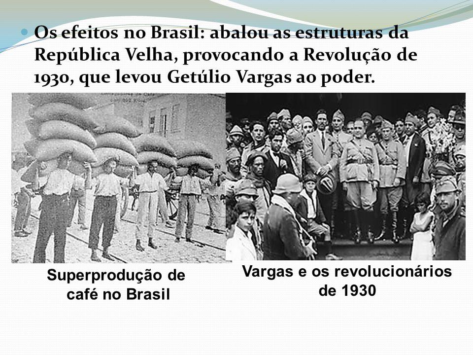 Vargas e os revolucionários de 1930
