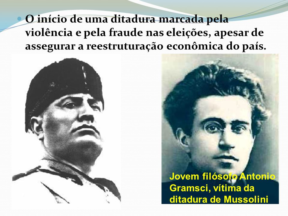 O início de uma ditadura marcada pela violência e pela fraude nas eleições, apesar de assegurar a reestruturação econômica do país.
