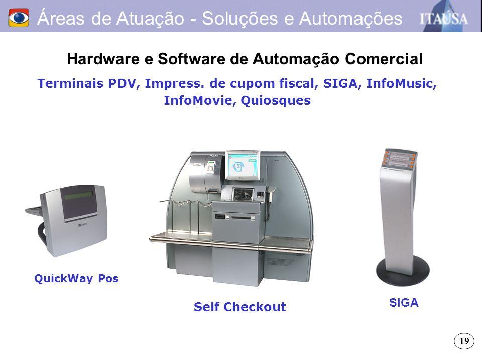 Hardware e Software de Automação Comercial