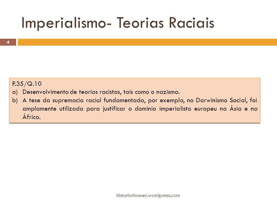 Imperialismo- Teorias Raciais