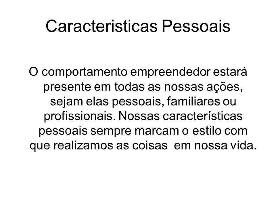 Caracteristicas Pessoais