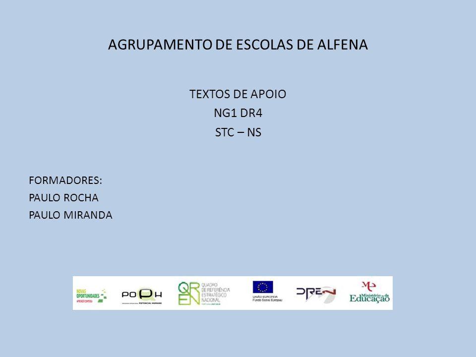 AGRUPAMENTO DE ESCOLAS DE ALFENA