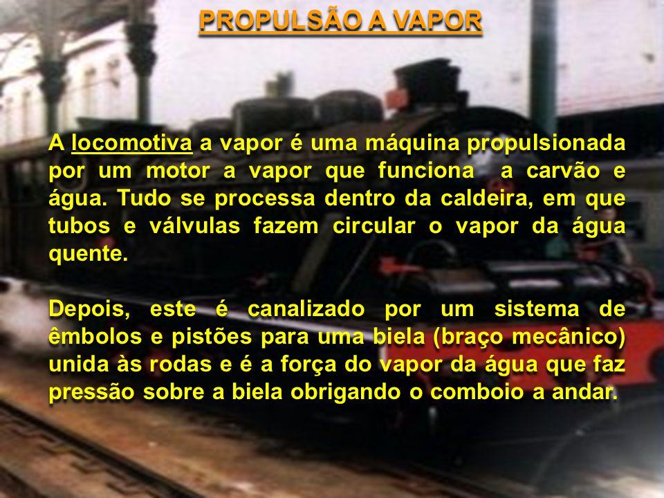 PROPULSÃO A VAPOR